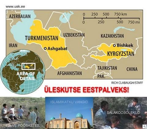 Usbekistan-Kasahstan-Korgozstan-Tadzikistan-Turkmenistan-kogudus-kristlased-kirik