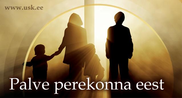 perekond-laps-lapsed-mees-naine-poordumine-palve-usule-arkamine